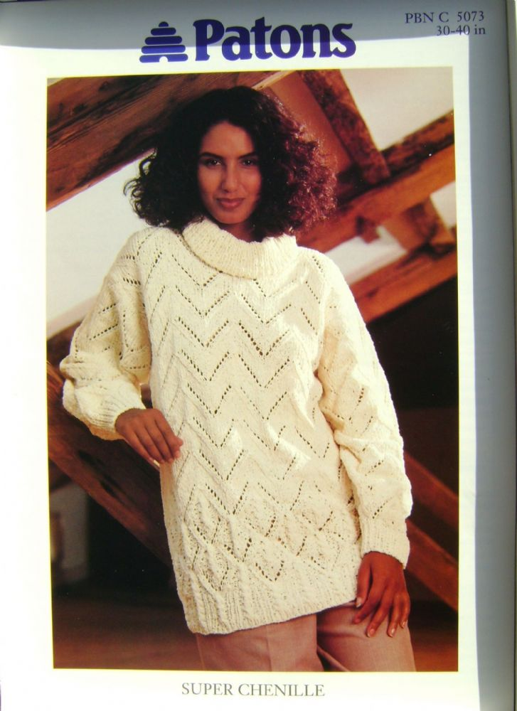 Patons Knitting Pattern 5073